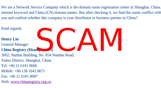 Chinese domains and keywords scam – Ruby Way